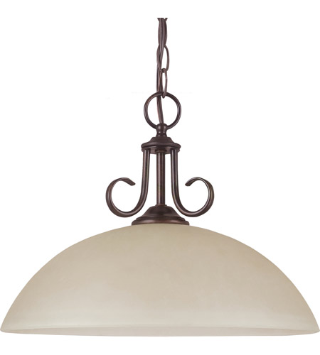 Sea Gull 65316-710 Lemont 1 Light 16 inch Burnt Sienna Pendant Ceiling Light in Standard photo