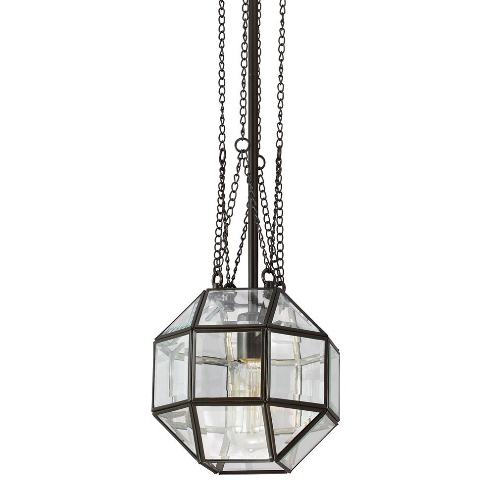 Sea Gull Lazlo 1 Light Pendant in Heirloom Bronze 6534401-782 photo