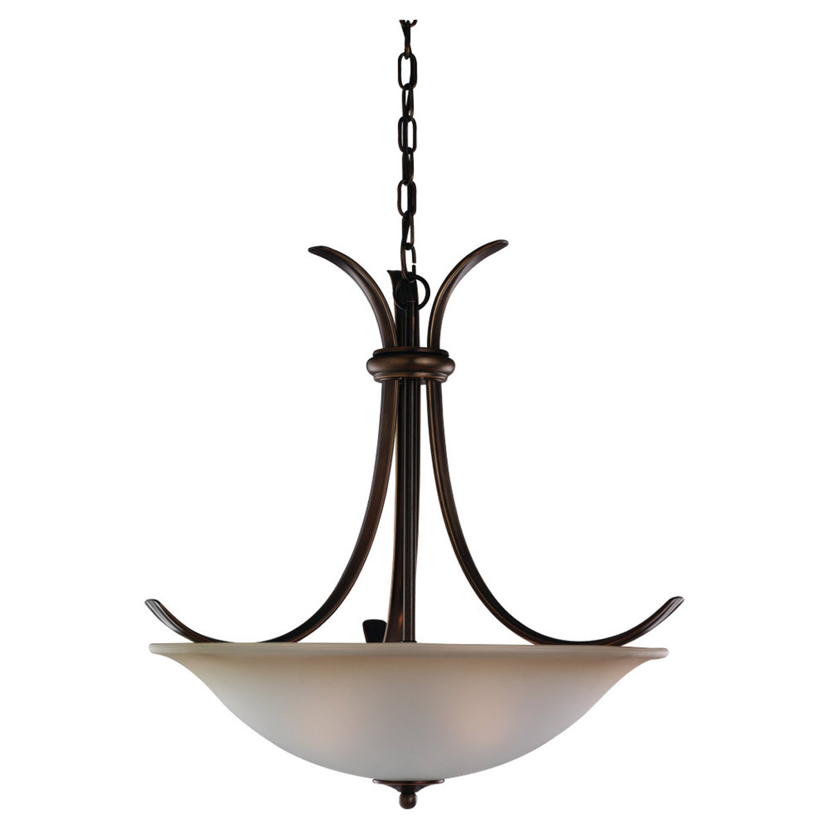 Sea Gull Lighting Rialto 3 Light Pendant in Russet Bronze 65361-829