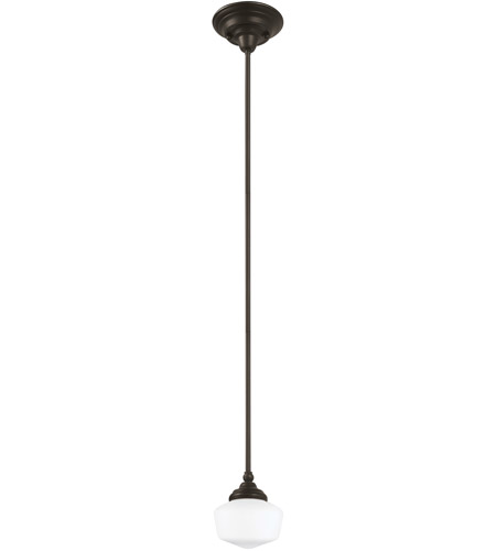 Sea Gull 65436-782 Academy 1 Light 7 inch Heirloom Bronze Pendant Ceiling Light in Standard photo