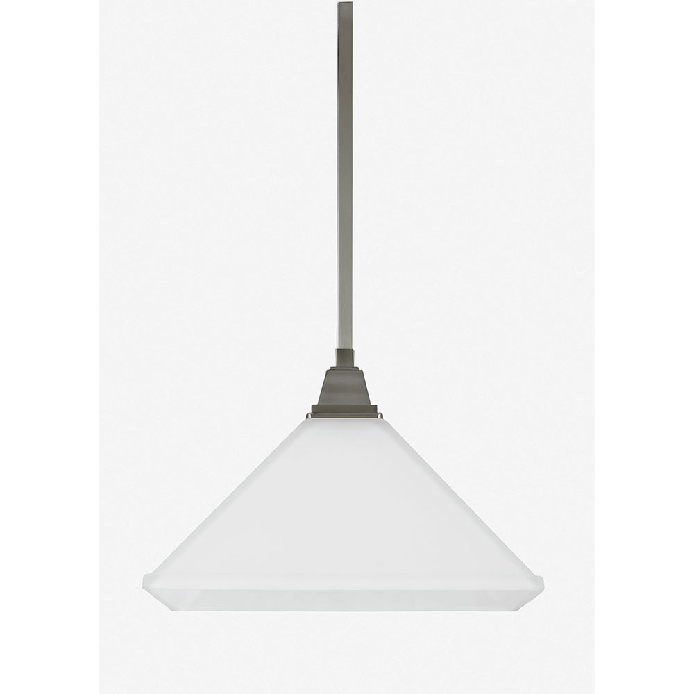 Sea Gull Denhelm 1 Light Pendant in Brushed Nickel 6550401BLE-962