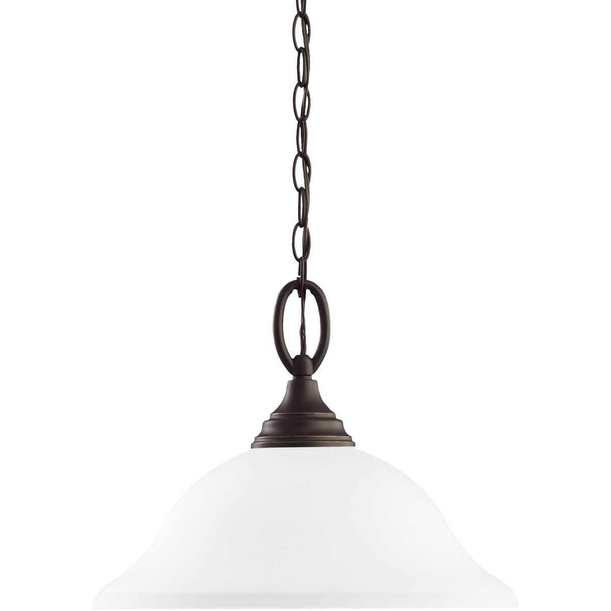 Sea Gull 65625-782 Wheaton 1 Light 15 inch Heirloom Bronze Pendant Ceiling Light in Standard photo