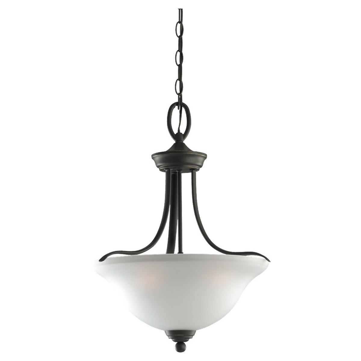 Sea Gull Lighting Wheaton 3 Light Pendant in Heirloom Bronze 65626-782