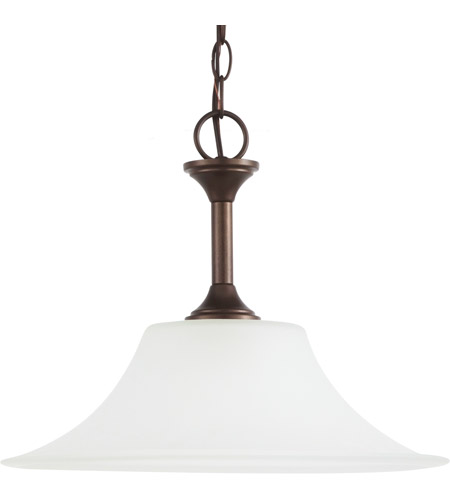 Sea Gull Lighting Holman 1 Light Pendant in Bell Metal Bronze 65806-827