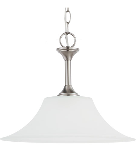 Sea Gull 65806-962 Holman 1 Light 13 inch Brushed Nickel Pendant Ceiling Light photo