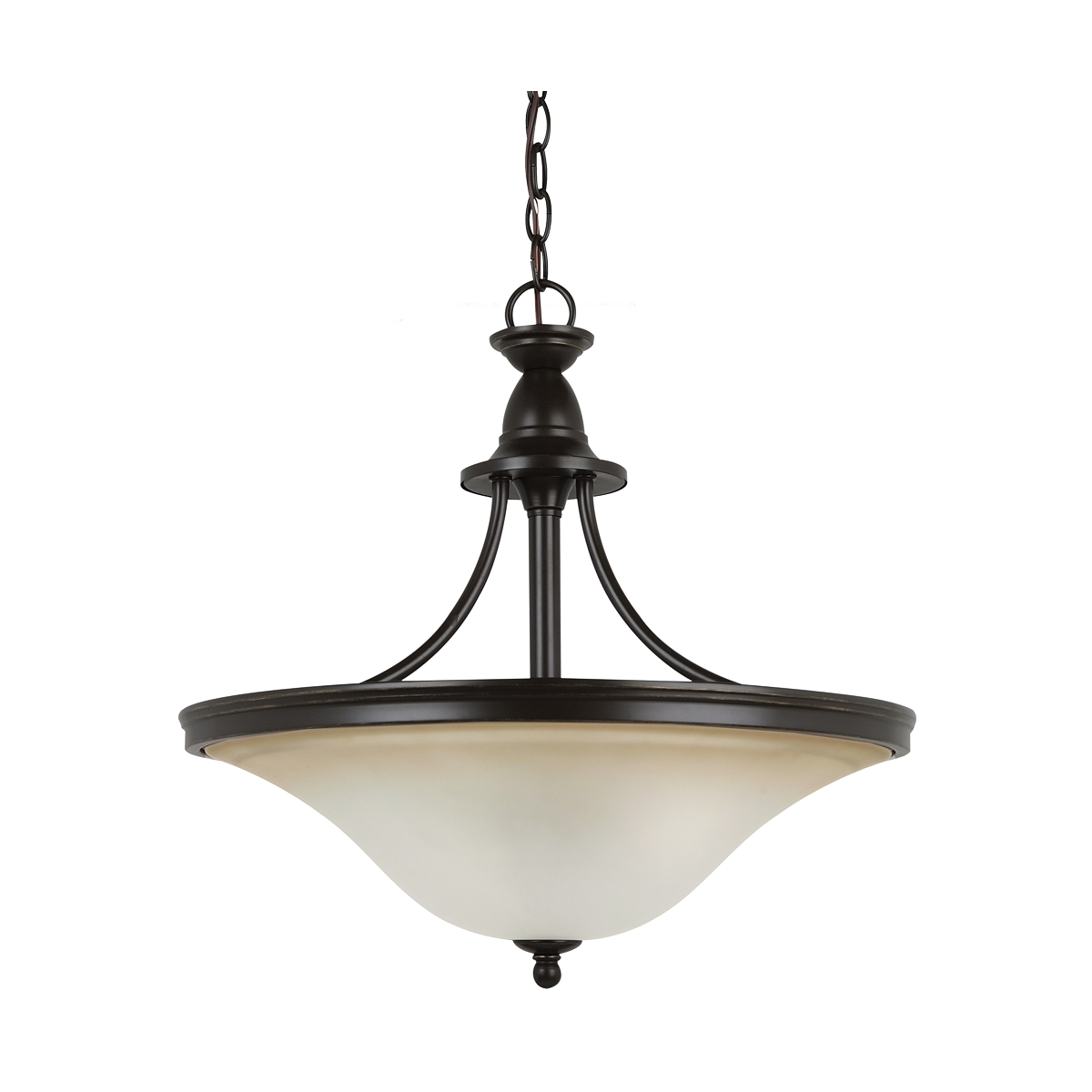 Sea Gull Lighting Gladstone 3 Light Pendant Up Light in Heirloom Bronze 65851-782 photo