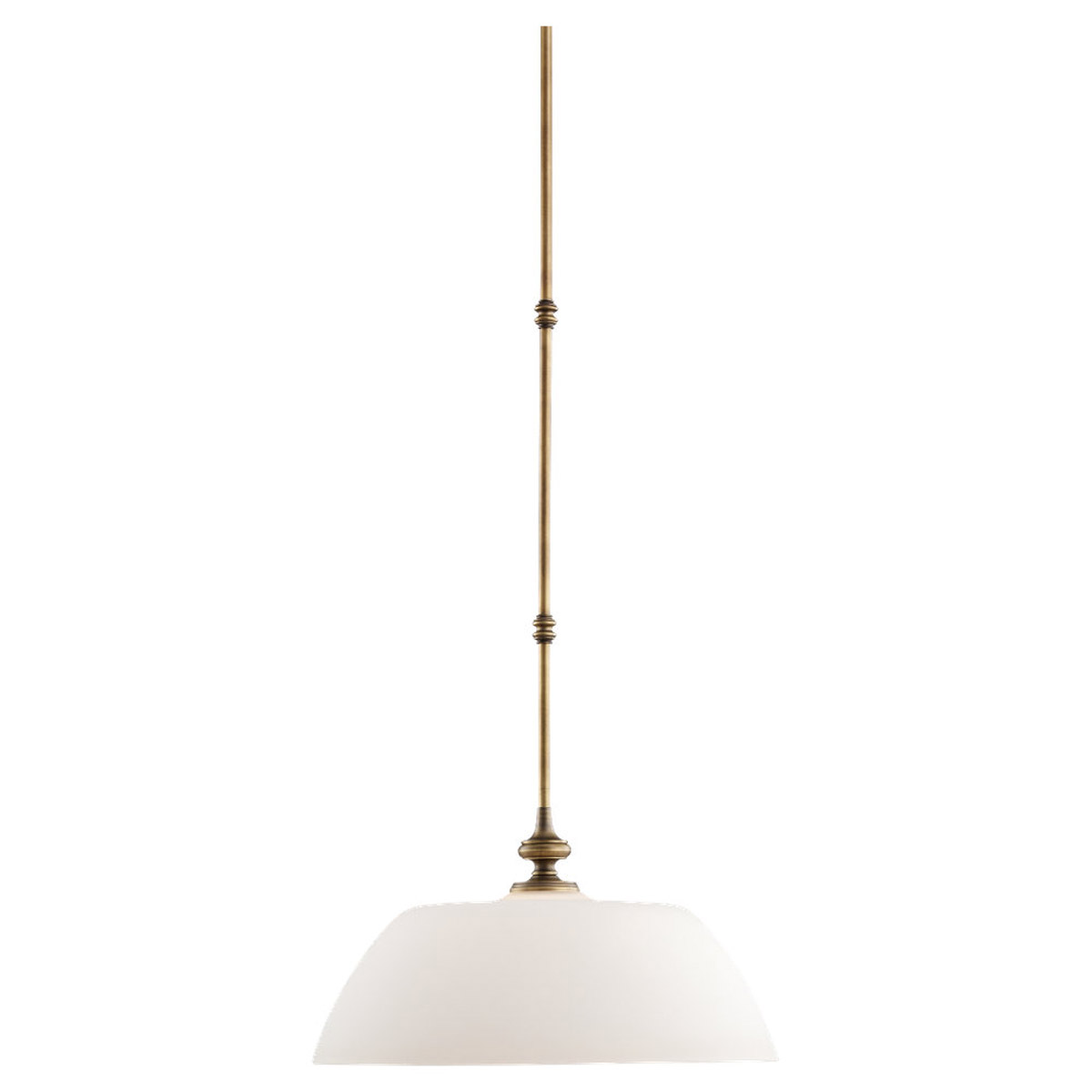 Sea Gull Lighting Montecristo 1 Light Pendant in Aged Bronze 65885-898