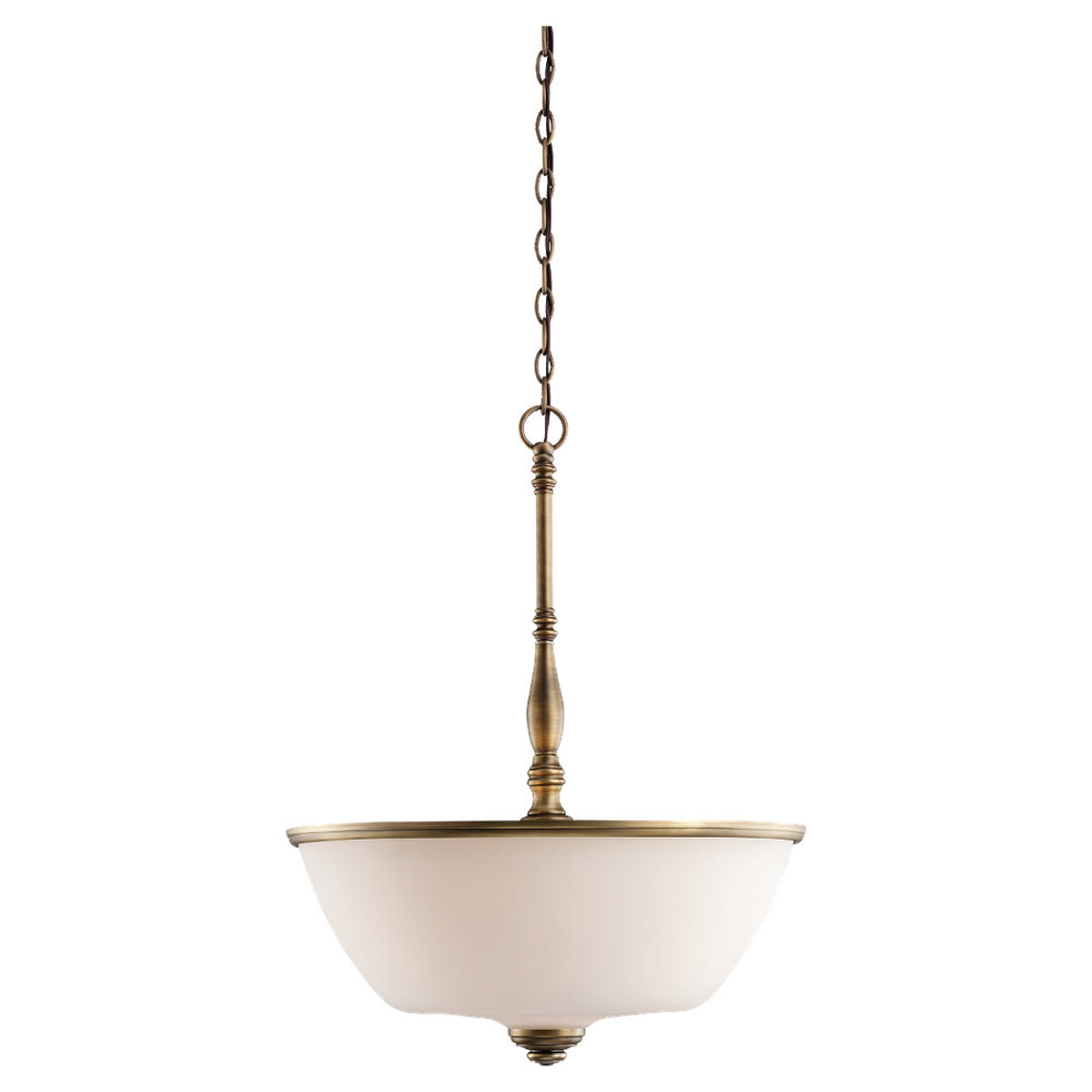 Sea Gull Lighting Montecristo 3 Light Pendant in Aged Bronze 65886-898