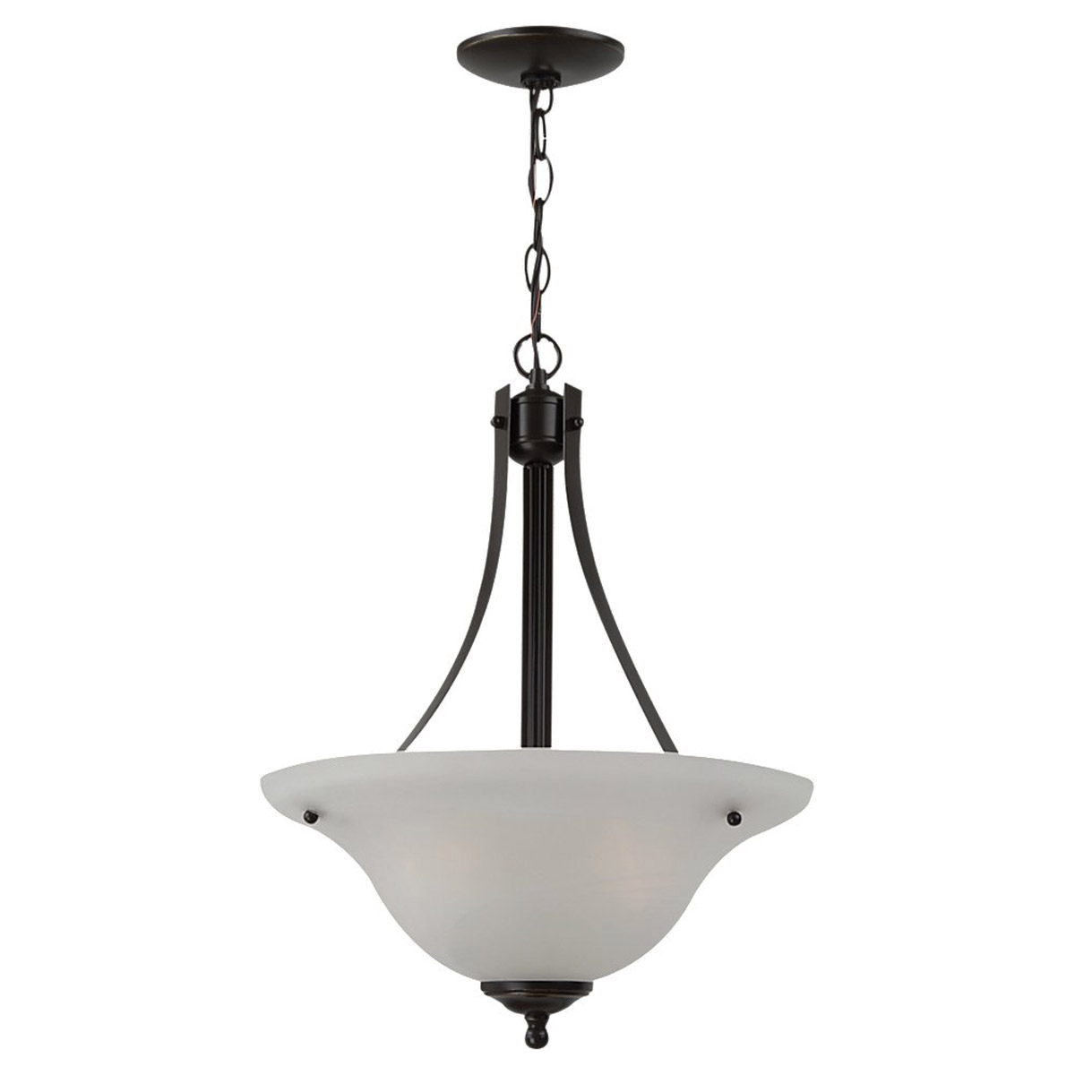 Sea Gull Lighting Windgate 2 Light Pendant in Heirloom Bronze 65941BLE-782