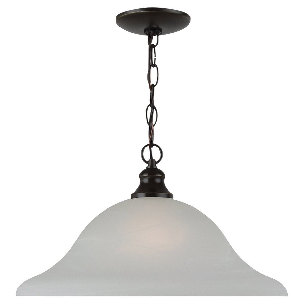 Sea Gull Lighting Windgate 1 Light Pendant in Heirloom Bronze 65942-782