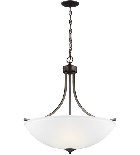 Sea Gull 6616504EN3-710 Geary 4 Light 25 inch Burnt Sienna Pendant Ceiling Light photo