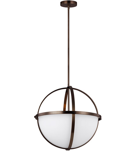 Alturas 3 Light 19 Inch Brushed Oil Rubbed Bronze Pendant Ceiling