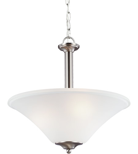 Brushed Nickel Steel Holman Pendants