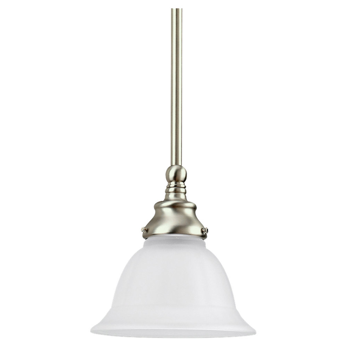 Sea Gull Lighting Canterbury 1 Light Pendant in Brushed Nickel 69050BLE-962