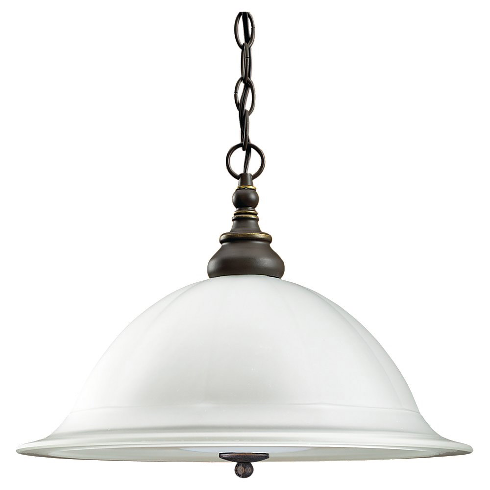 Sea Gull Lighting Canterbury 3 Light Pendant Down Light in Antique Bronze 69350BLE-71 photo
