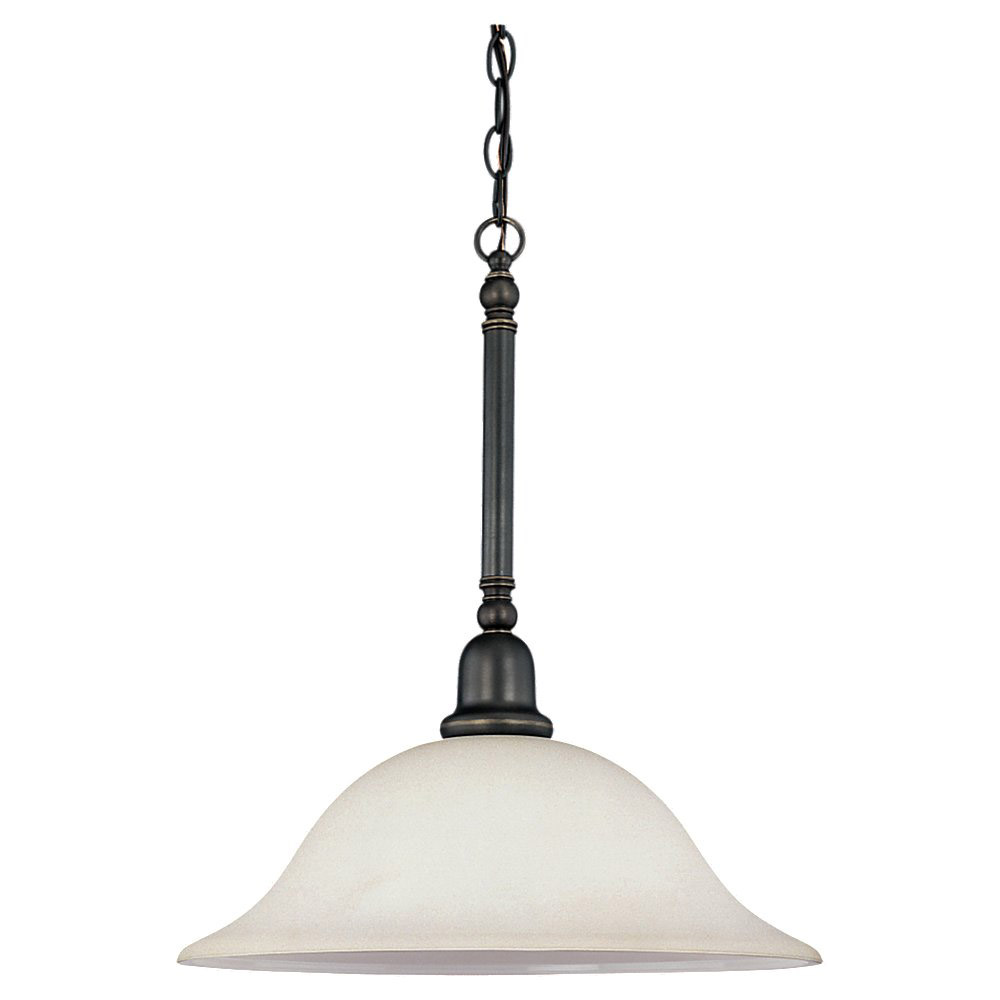 Sea Gull Lighting Sussex 3 Light Pendant in Heirloom Bronze 69561BLE-782