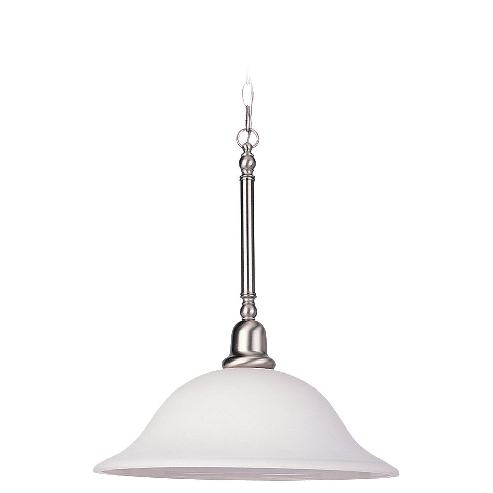 Sea Gull 69561BLE-962 Sussex 3 Light 16 inch Brushed Nickel Pendant Ceiling Light photo