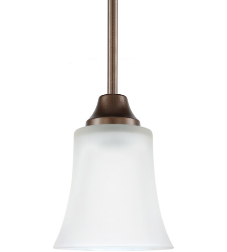Sea Gull Holman 1 Light Mini Pendant in Bell Metal Bronze 69806BLE-827