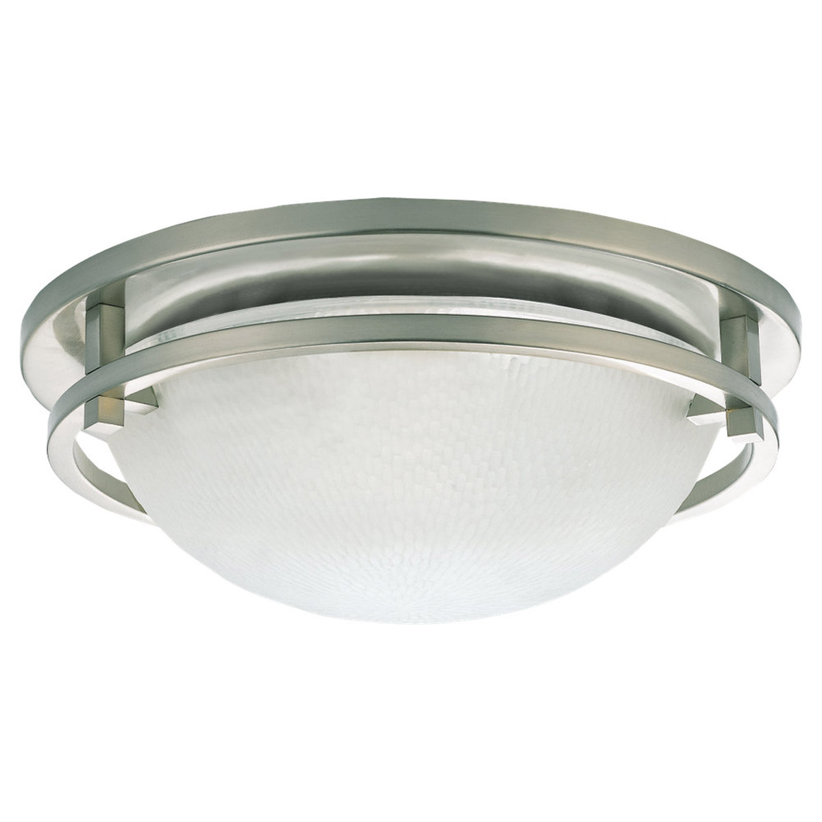 Sea Gull Lighting Eternity 2 Light Flush Mount in Brushed Nickel 75114-962