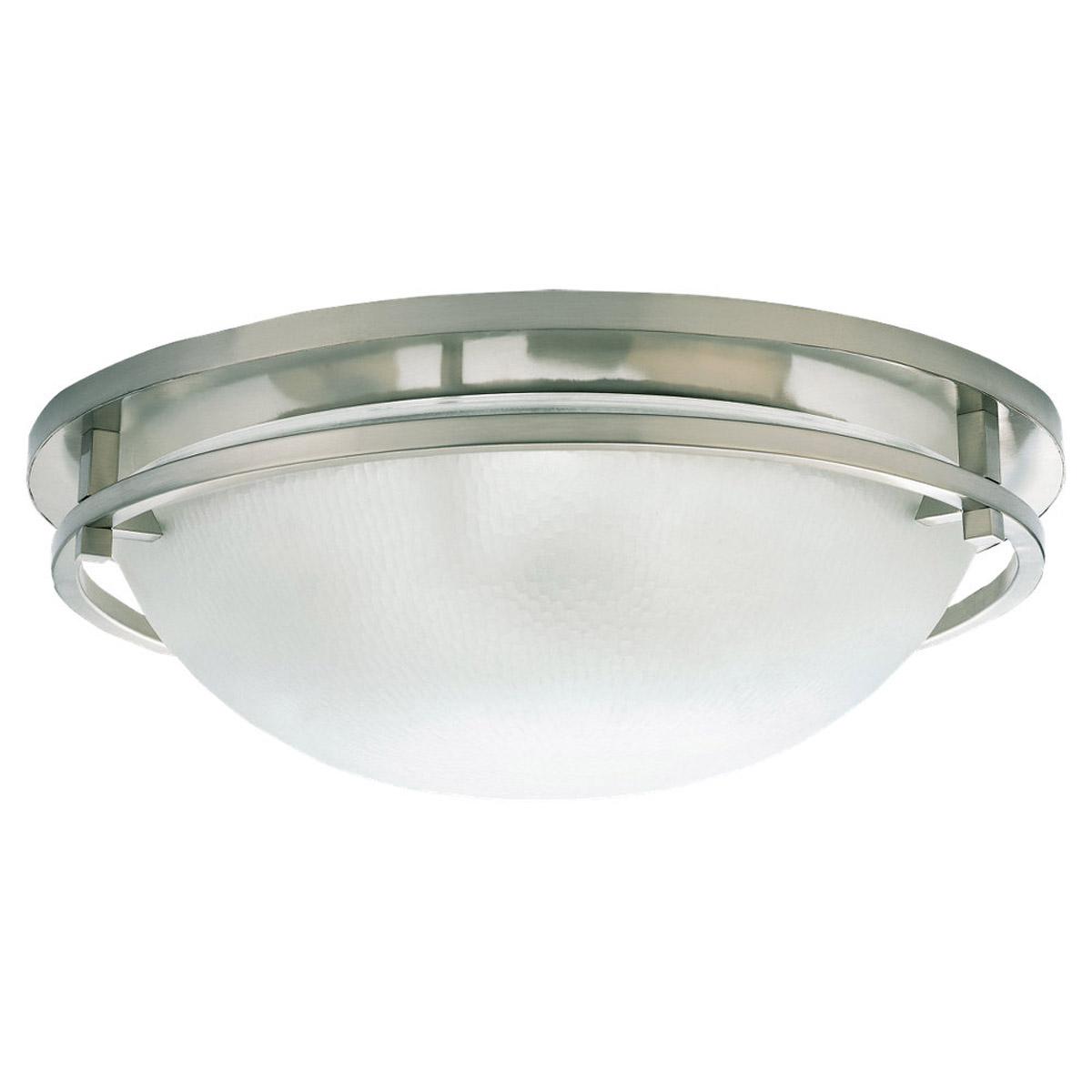 Sea Gull Lighting Eternity 3 Light Flush Mount in Brushed Nickel 75115-962