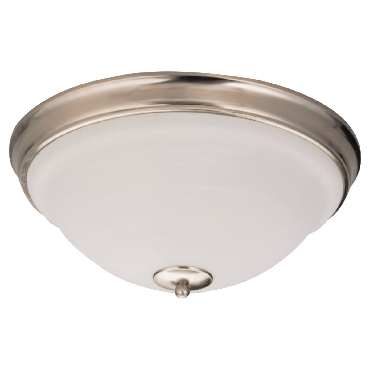 Sea Gull Lighting Serenity 3 Light Flush Mount in Brushed Nickel 75190-962 photo