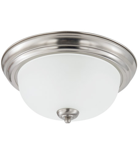 Sea Gull Holman 3 Light Flush Mount in Brushed Nickel 75443-962 photo