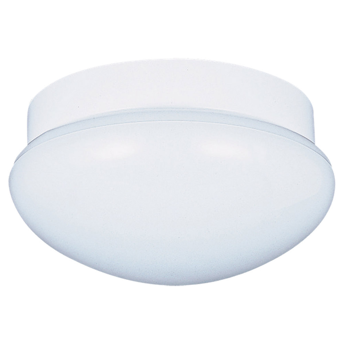 Sea Gull Lighting Flush Mount 1 Light Flush Mount in White 7638-15