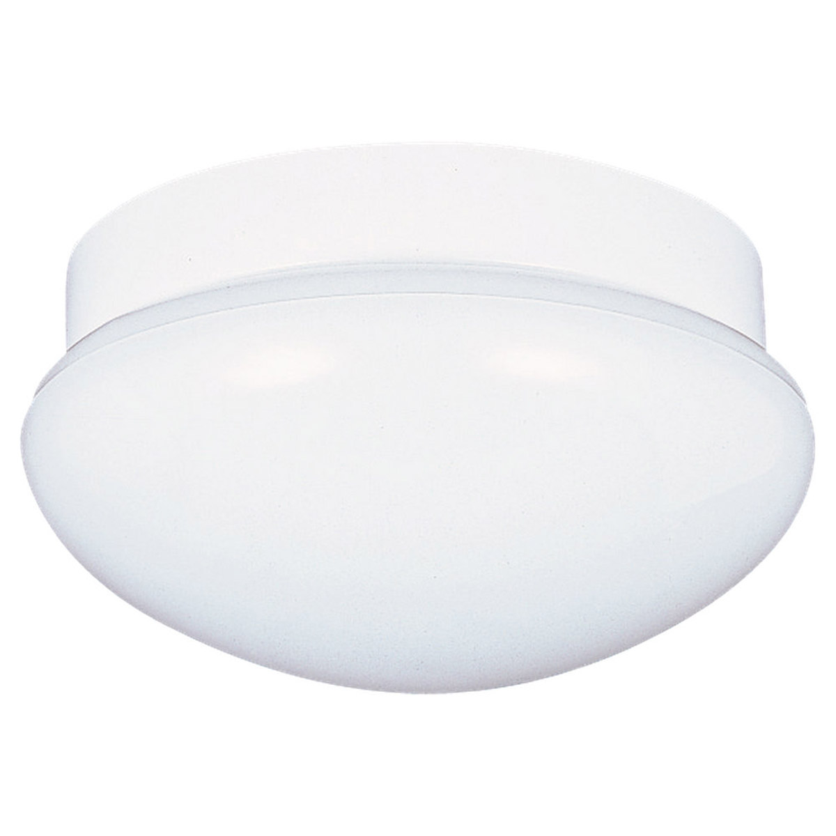 Sea Gull Lighting Flush Mount 3 Light Flush Mount in White 7640-15
