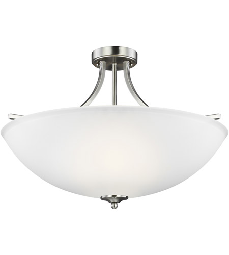 Brushed Nickel Geary Pendants