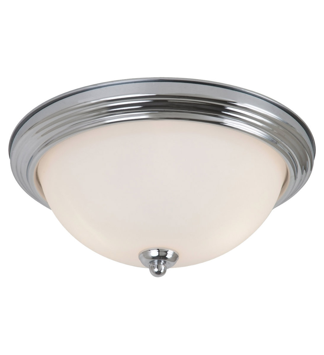 Sea Gull Oslo 2 Light Flush Mount in Chrome 79164BLE-05