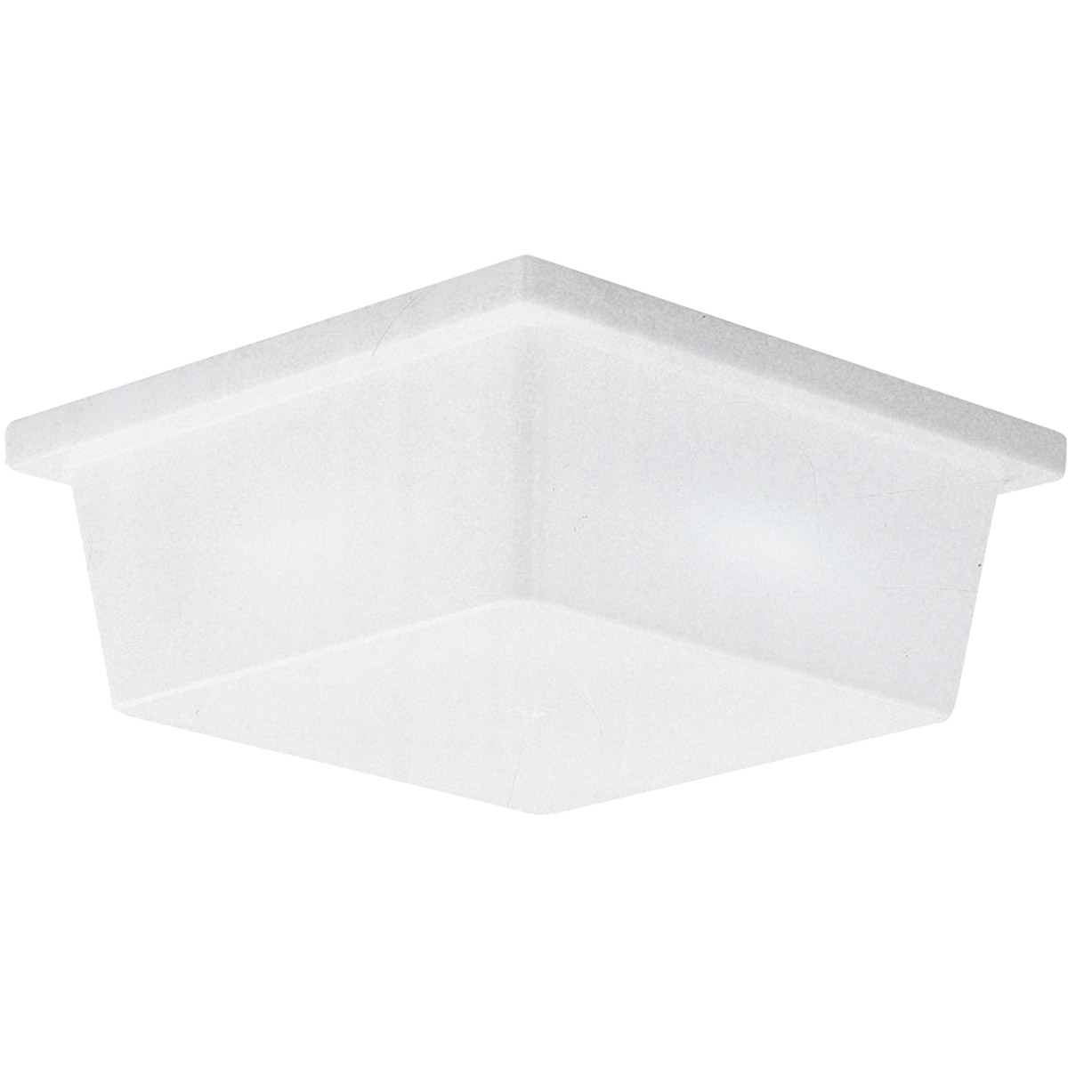 Sea Gull Lighting Signature 2 Light Flush Mount in White Plastic 7916BLE-68