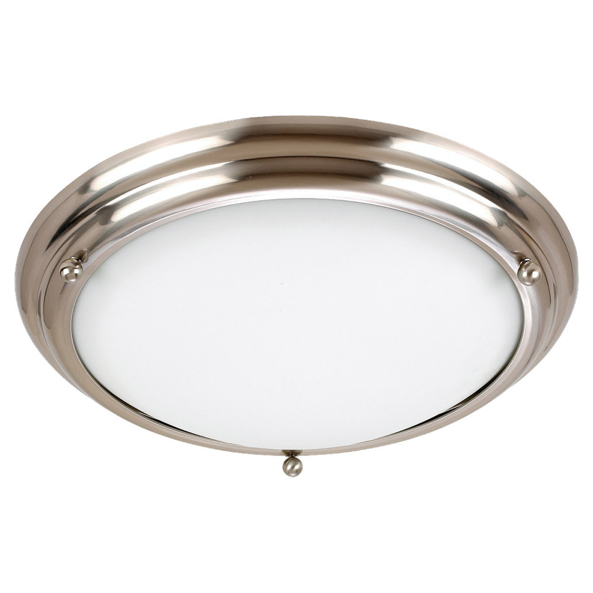 Sea Gull Lighting Centra 4 Light Flush Mount in Brushed Stainless 79233BLE-98