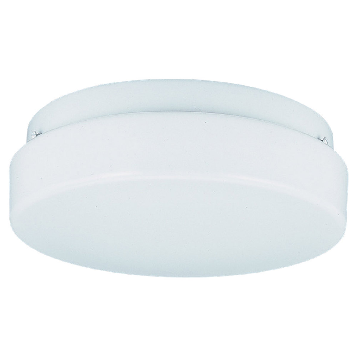 Sea Gull Lighting Haylee 1 Light Flush Mount in White 7925BLE-15