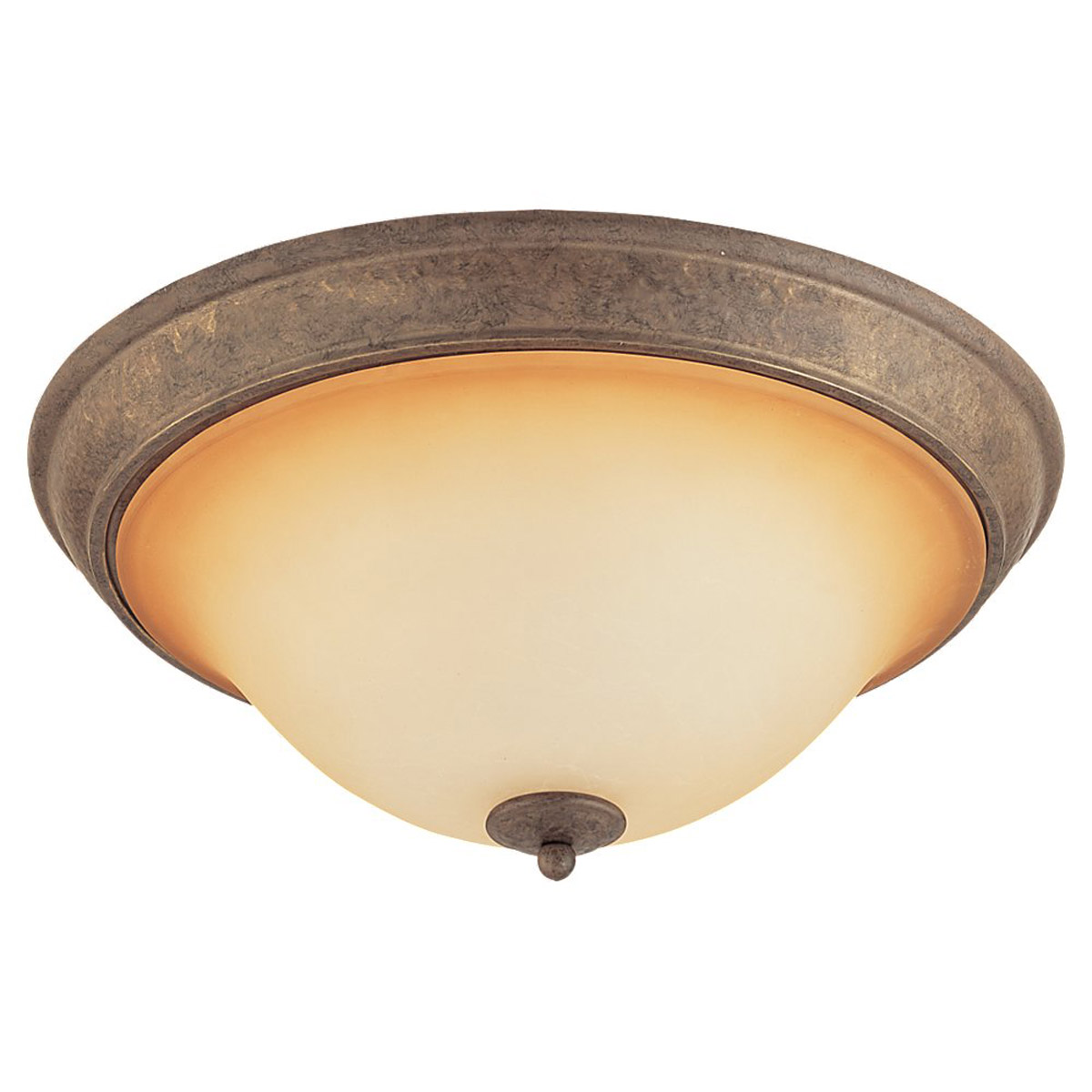 Sea Gull Lighting Brandywine 4 Light Flush Mount in Antique Bronze 79331BLE-71