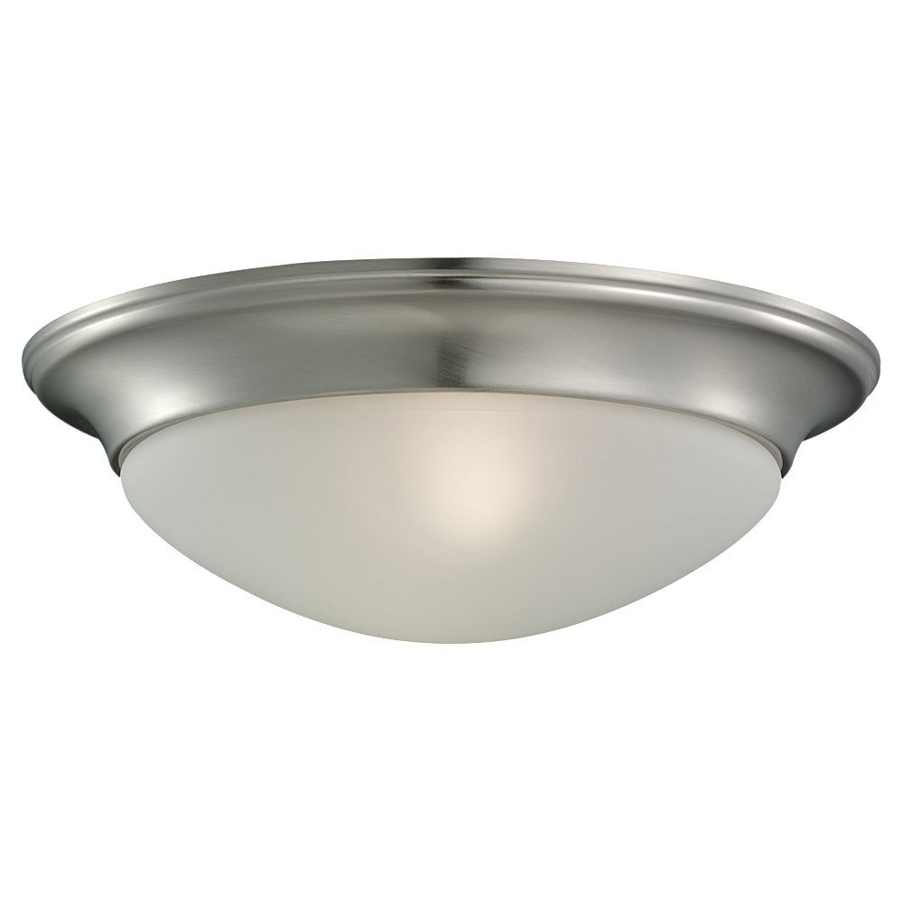 Sea Gull Lighting Nash 1 Light Flush Mount in Brushed Nickel 79434BLE-962