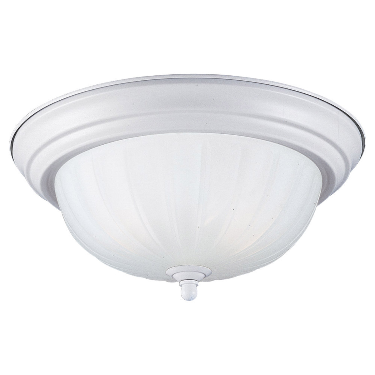 Sea Gull Lighting Floyd 1 Light Flush Mount in Textured Snow 79504BLE-162