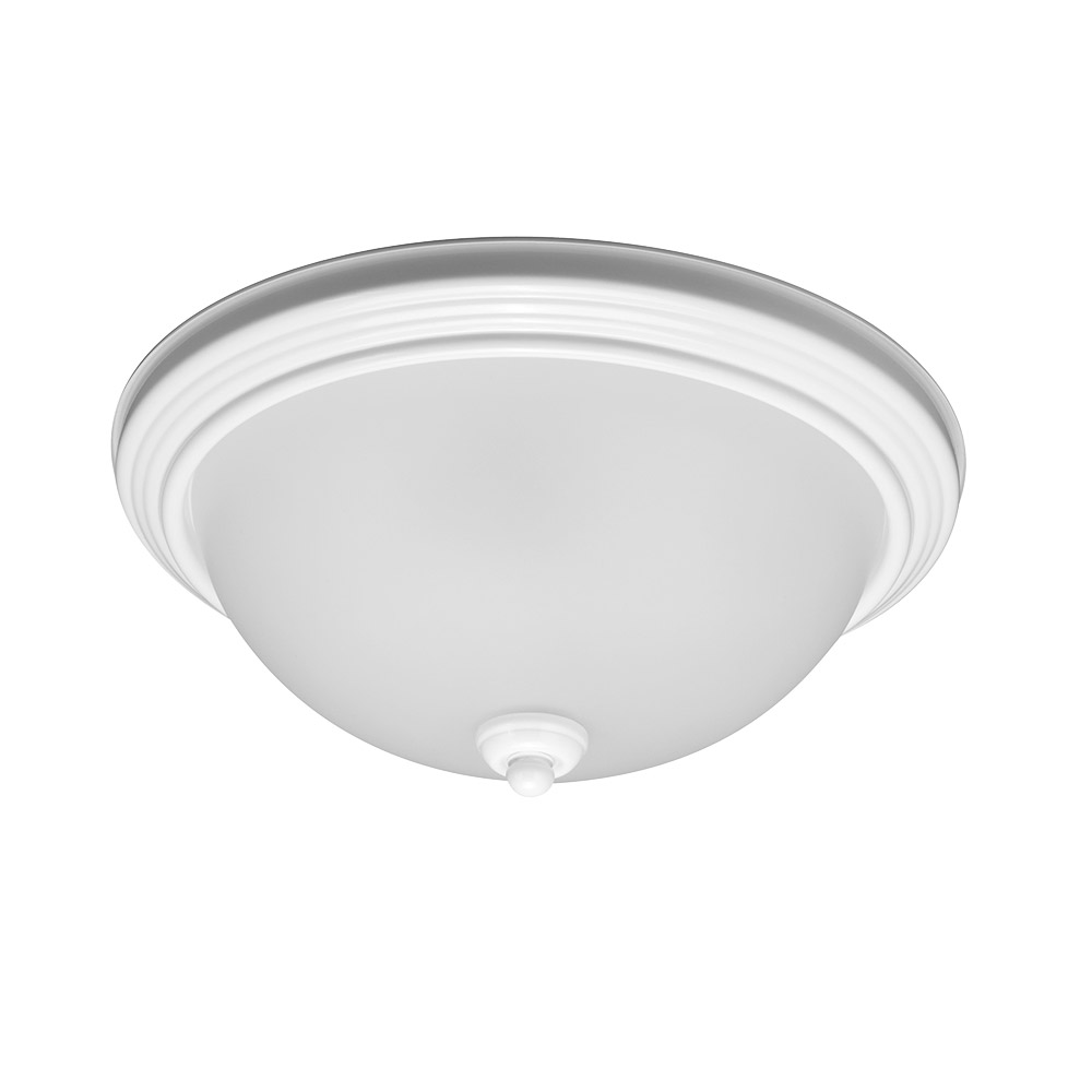 Sea Gull Signature 3 Light Flush Mount in White 79565BLE-15 photo