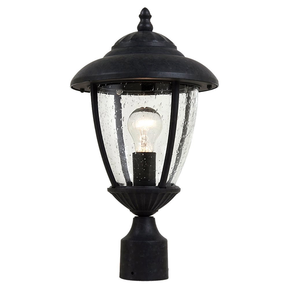 Sea Gull Lighting Lambert Hill 1 Light Outdoor Post Lantern in Oxford Bronze 82068-746