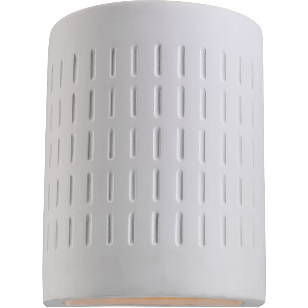 Sea Gull 83046-714 Paintable Ceramic 1 Light 10 inch Unfinish Ceramic Outdoor Wall Lantern photo