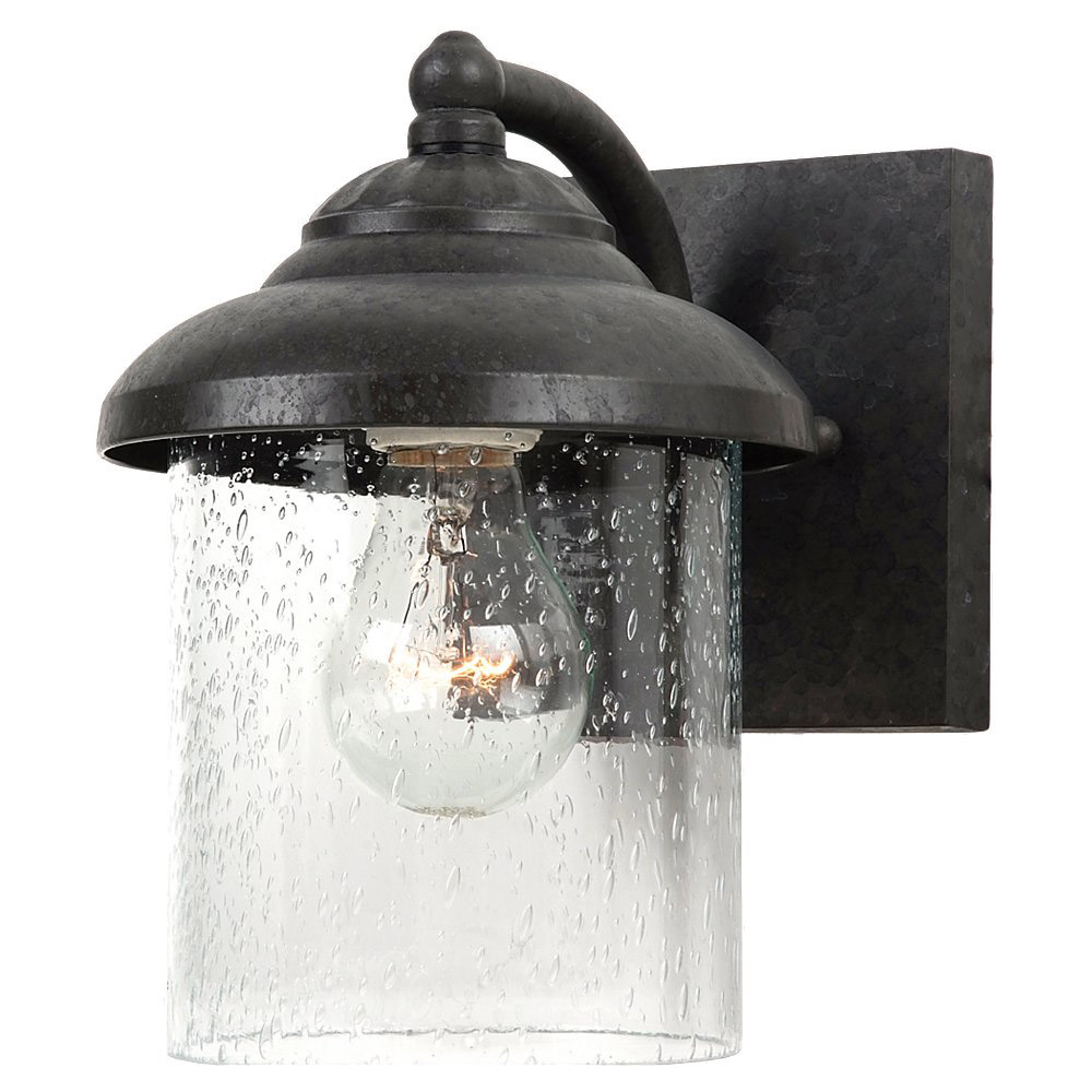 Sea Gull 84068-746 Lambert Hill 1 Light 8 inch Oxford Bronze Outdoor Wall Lantern photo