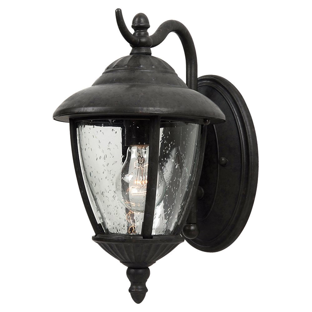 Sea Gull Lighting Lambert Hill 1 Light Outdoor Wall Lantern in Oxford Bronze 84069-746