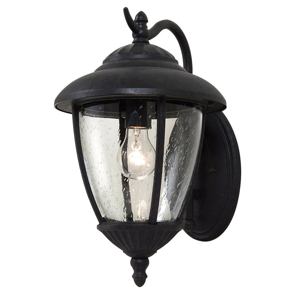 Sea Gull Lighting Lambert Hill 1 Light Outdoor Wall Lantern in Oxford Bronze 84070-746