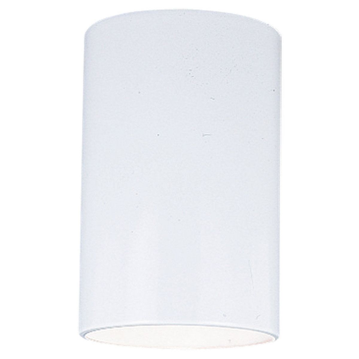 Sea Gull Lighting Outdoor Bullets 1 Light Outdoor Ceilingl Lantern in White 8439-15