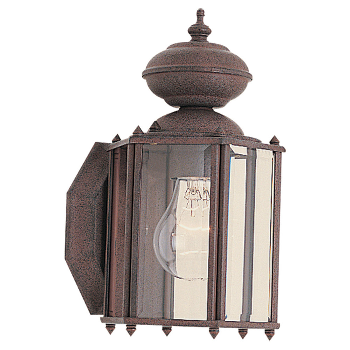 Sea Gull Lighting Classico 1 Light Outdoor Wall Lantern in Sienna 8507-26 photo
