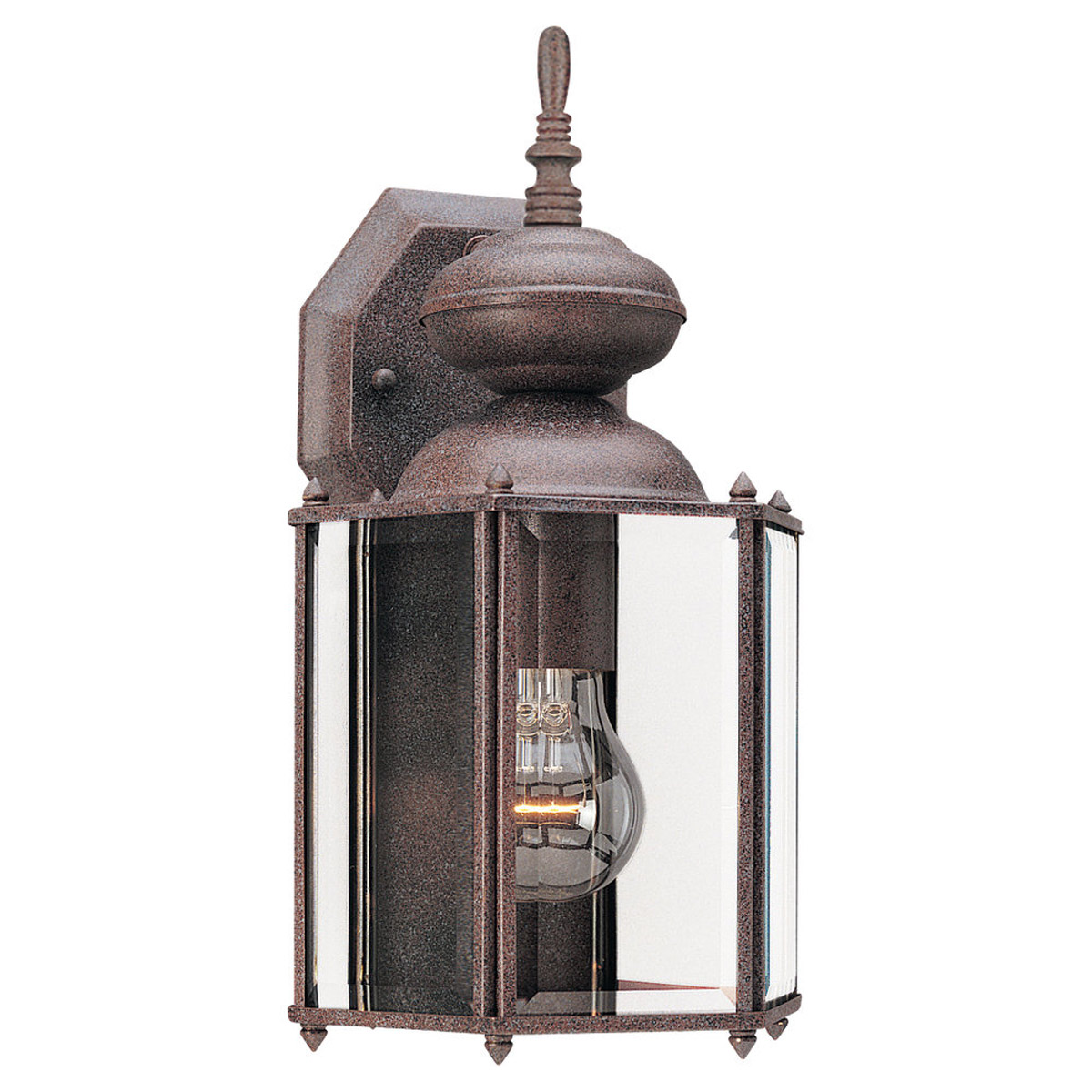 Sea Gull Lighting Classico 1 Light Outdoor Wall Lantern in Sienna 8509-26