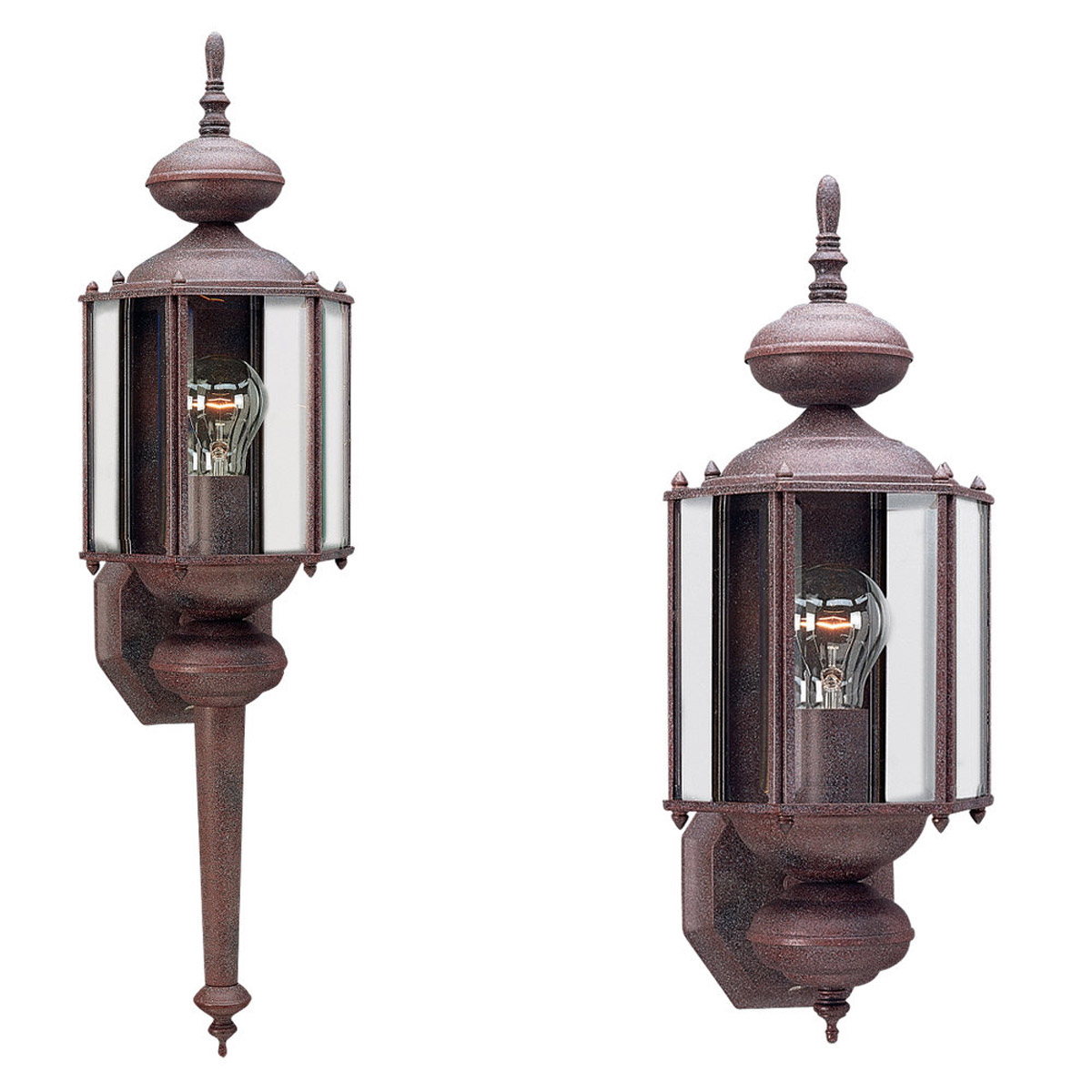 Sea Gull Lighting Classico 1 Light Outdoor Wall Lantern in Sienna 8510-26