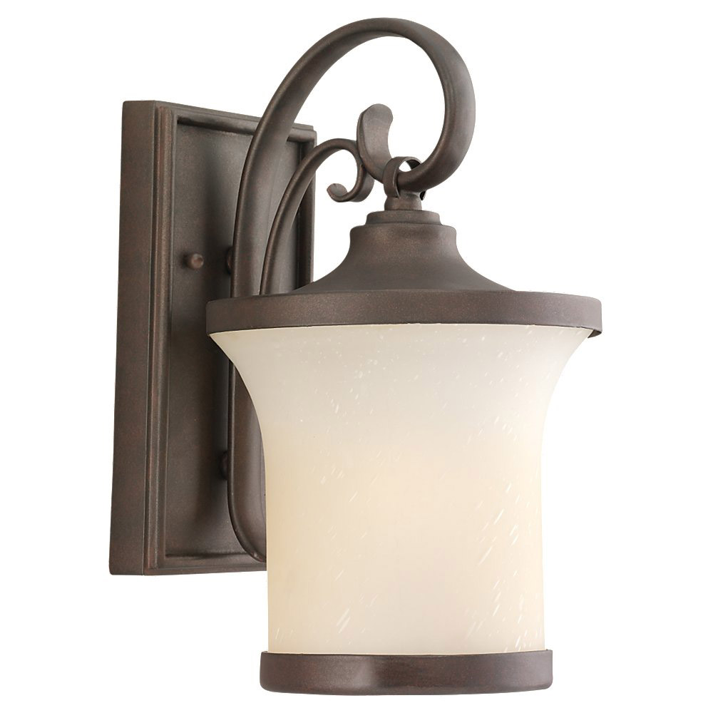 Sea Gull Lighting Del Prato 1 Light Outdoor Wall Lantern in Chestnut Bronze 88122-820