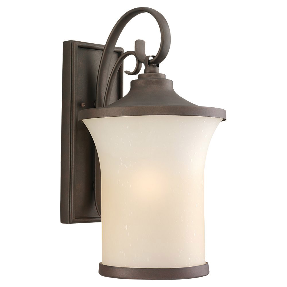 Sea Gull Lighting Del Prato 1 Light Outdoor Wall Lantern in Chestnut Bronze 88123BLE-820