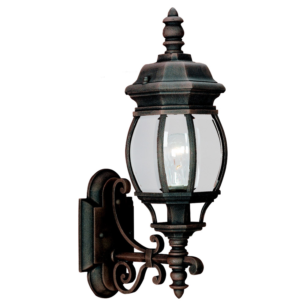Sea Gull Lighting Wynfield 1 Light Outdoor Wall Lantern in Tawny Bronze 88200-821