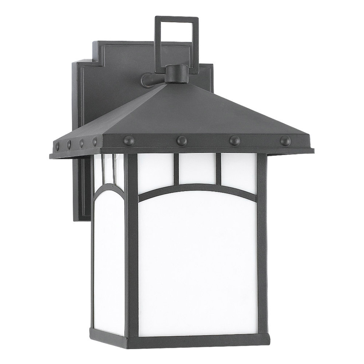 Sea Gull Lighting Ashville 1 Light Outdoor Wall Lantern in Cottage Bronze 88230D-833
